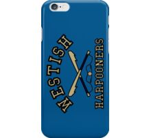 Westish Harpooners iPhone Case/Skin