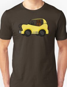 cartoon fun yellow car T-Shirt