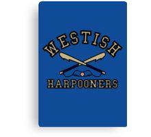 Westish Harpooners Canvas Print