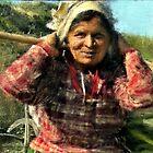 Nargakot Village Woman by V1mage