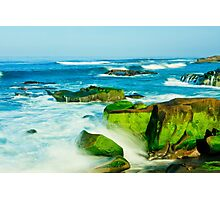 San Diego Beach (La Jolla Windansea) Photographic Print