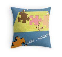 GET JIGGY!! Throw Pillow