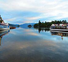 Cool Blue Dawn - Windermere,Lake District, UK by Dawn B Davies-McIninch