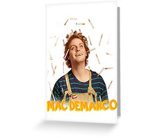 MAC-DEMARCO' - T#3 Greeting Card