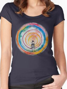 Person Women's Fitted Scoop T-Shirt