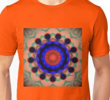 Vintage Psychedelic Mandala by Genevieve Chausse Unisex T-Shirt