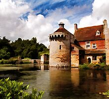 Scotney Castle by Bel Menpes