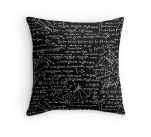 Equations Throw Pillow