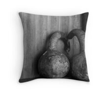 been bad - sent to the Naughty Corner. Throw Pillow
