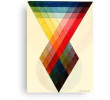 Chromatic scale chart by J. Sowerby, 1807 Canvas Print