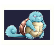 Squirtle! Art Print