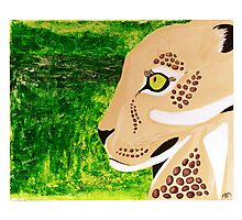 Leopard and Jungle Photographic Print