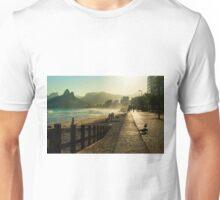 Along Ipanema Beach Unisex T-Shirt