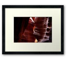 Antelope Slot Canyon, Arizona, USA Framed Print