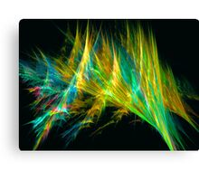 Shining Lines Canvas Print
