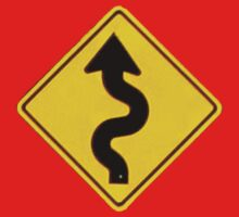 A Winding Road Ahead Baby Tee