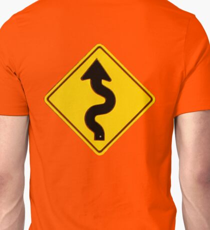 A Winding Road Ahead Unisex T-Shirt