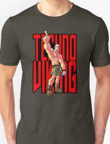 Cartoon Techno Viking T-Shirt