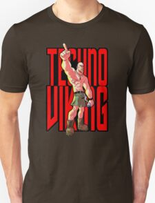 Cartoon Techno Viking T-Shirt