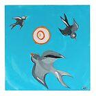 Swallows by artisallstudios