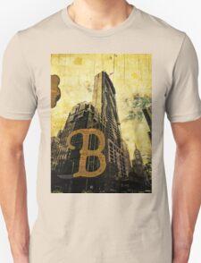 Grungy Melbourne Australia Alphabet Letter B Central Business District T-Shirt