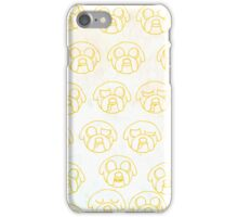 Adventure Time with Jake iPhone Case/Skin