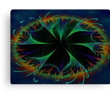 Fractal Fountain Canvas Print