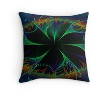 Fractal Fountain Throw Pillow