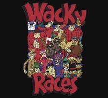 Cartoon Wacky Races Characters 2 by kakang08