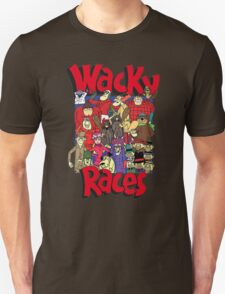 Cartoon Wacky Races Characters 2 T-Shirt