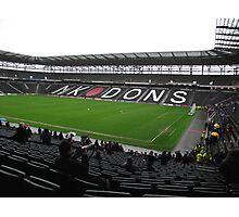 Stadium Mk  Photographic Print