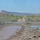 Bluey O'Malleys crossing, Pentecost River, Kimberley, W.A. by Margaret  Hyde