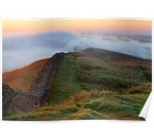 Winshields Crag on Hadrian's Wall Poster