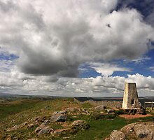 Winshields Crag, the highest point on Hadrian's Wall by Joan Thirlaway