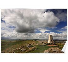 Winshields Crag, the highest point on Hadrian's Wall Poster