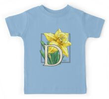 D is for Daffodil Kids Tee