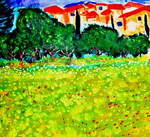 Les Alpilles by Rusty  Gladdish