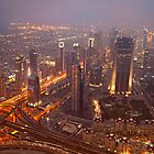 Dubai Skyline by reisefoto