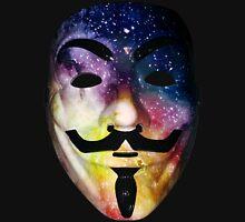 Guy Fawkes/ Anonymous Custom Made Galaxy Mask Print Unisex T-Shirt
