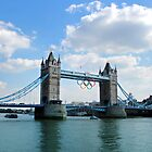 Tower Bridge (Olympic rings)  by ChloeFaye