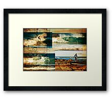 Surf Addicts Framed Print