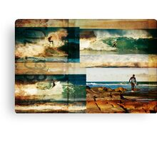 Surf Addicts Canvas Print