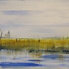 Norfolk Marshes by Linda Ridpath