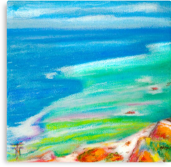 pastel . Cabo da Roca by terezadelpilar~ art & architecture