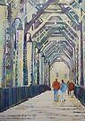 Foggy Morning on the Old Railway Bridge by JennyArmitage