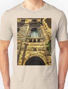 Grungy Melbourne Australia Alphabet Letter I Royal Melbourne Institute of Technology T-Shirt