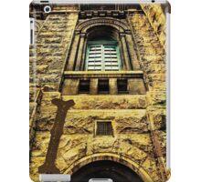 Grungy Melbourne Australia Alphabet Letter I Royal Melbourne Institute of Technology iPad Case/Skin