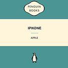 Iphone Penguin Classic Case - Aqua by Simon Westlake