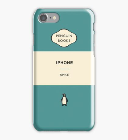 Iphone Penguin Classic Case - Aqua iPhone Case/Skin