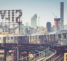 7 Train and Silvercup Studios by Randy  LeMoine